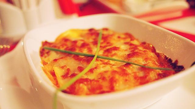 Lasagna recipe rolls
